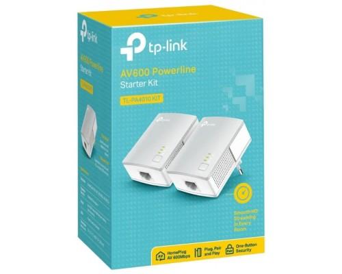 Комплект адаптеров Powerline TP-LINK TL-PA4010 KIT AV600