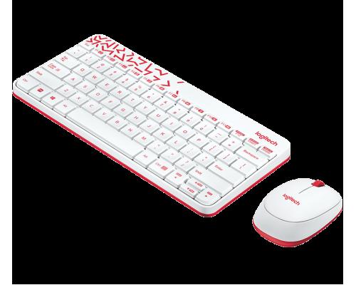 Беспроводной набор MK240 Nano White