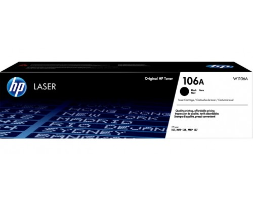 Картридж HP 106A, 1000 страниц (W1106A) Black